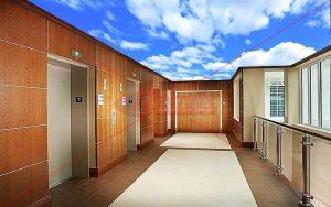 HD Gergi Tavan apartman lobisi