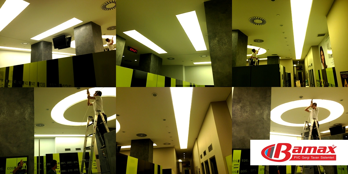 Ağaoğlu my Residence gergi tavan uygulaması