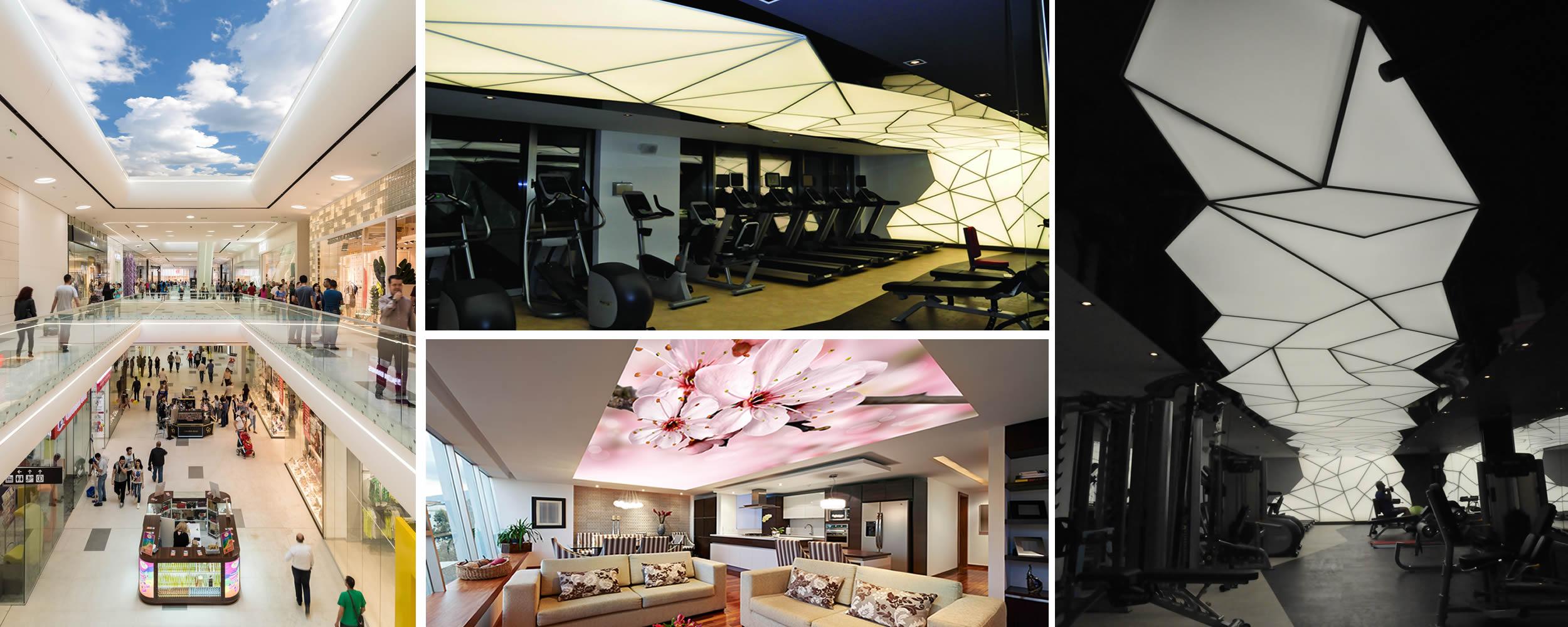 gergi tavanda yenilikler, gergi tavan yenilikleri