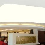 Gergi Tavan Restaurant tavanı uygulaması, germe tavan uygulamaları, pvc tavan, gergi tavan, barisol tavan, tavan dekoru
