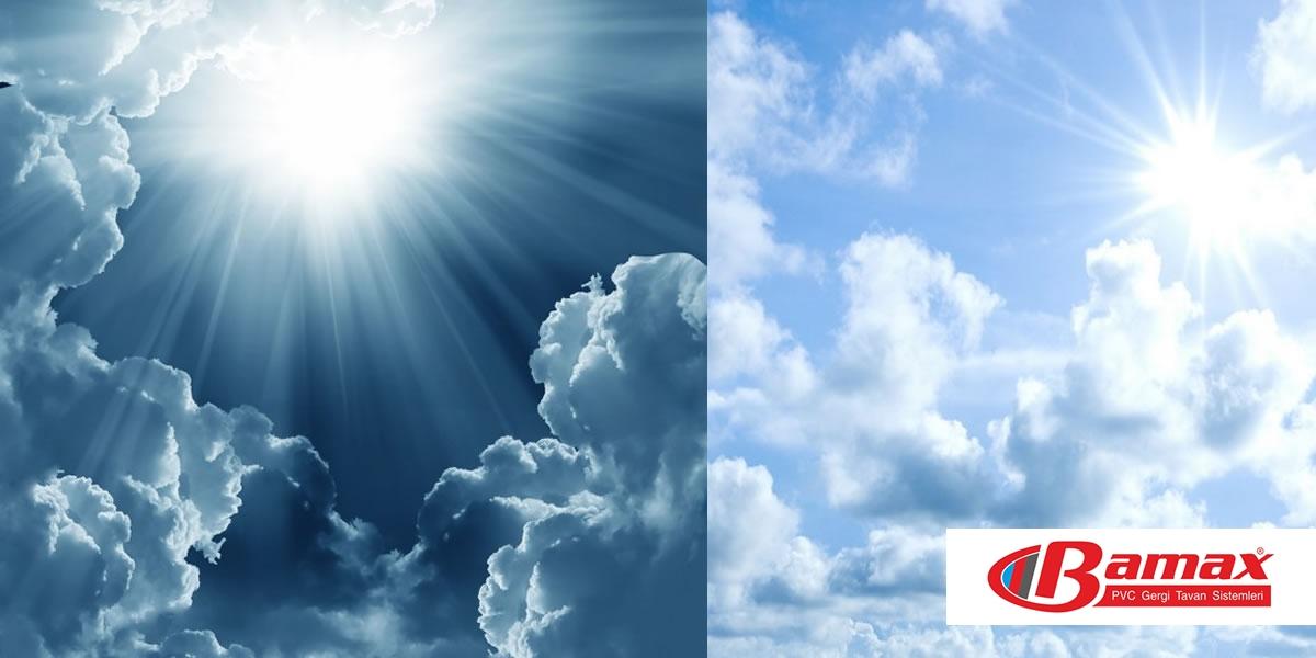 Gergi Tavan Gökyüzü Görselleri