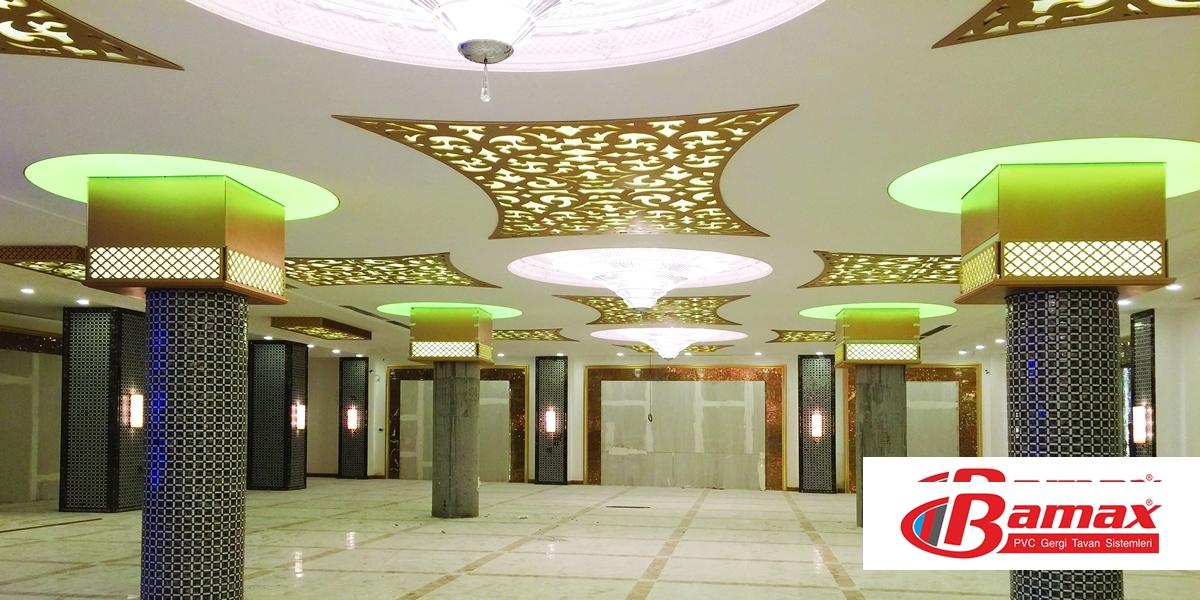 Alış veriş merkezi Gergi tavan uygulama-4