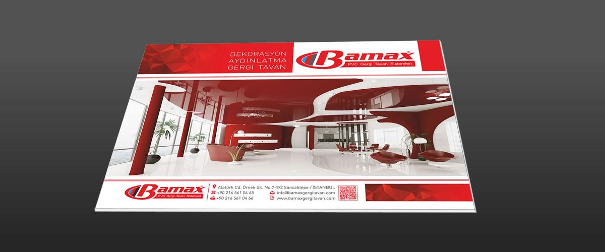 Bamax Gergi Tavan 2016 Kataloğu