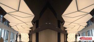 Gergi tavan spor salonları uygulaması