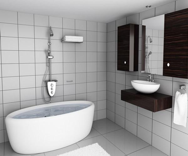 Banyo dekorasyon gergi tavan - Banyo dekorasyon ...