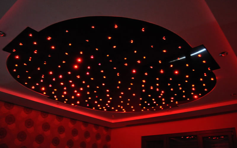 Gergi tavan Fiber Optik