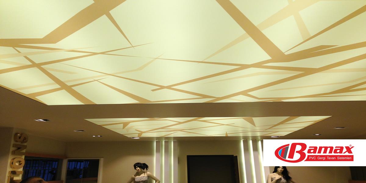 gergi tavan ile ışığın dansı, gergi tavan, germe tavan, barisol tavan