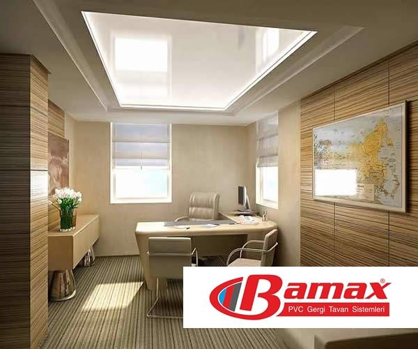 gergi tavan ofis uygulamaları, gergi tavan iş yeri uygulamaları, gergi tavan, germe tavan