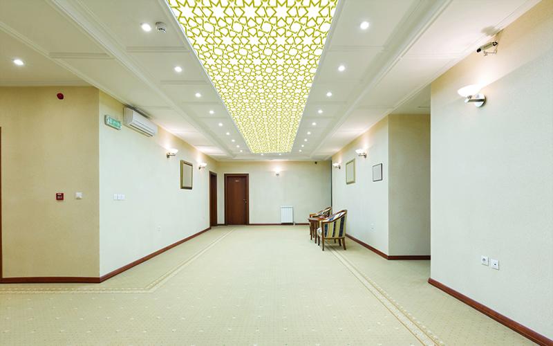 Gergi tavan sistemleri ile tavan dekoru