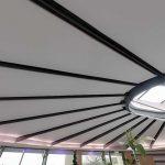 Ses yalımı ile daha sessiz mekanlar için akustik gergi tavan