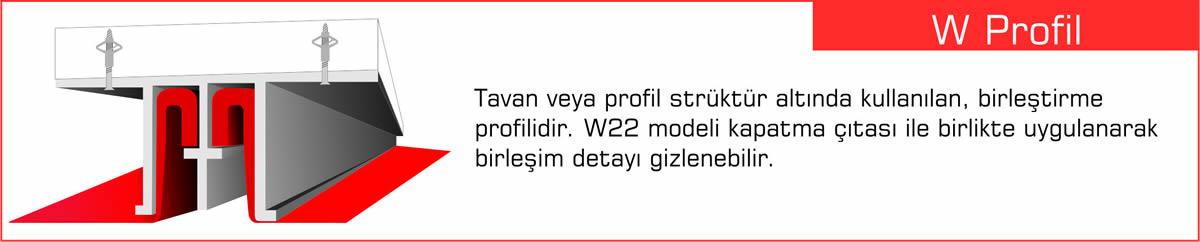 Gergi Tavan Profilleri, Germe Tavan Profili