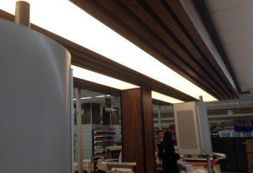 Efor Market tensioner Ceiling Application
