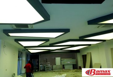 Nature College Tensioner Ceiling Application