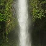 Kosta Rika Catarata La fortuna La fortuna Şelaleesi