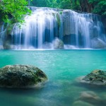 Kanjanaburi Tayland Şelale