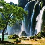 ban gioc Vietnam Detian Şelalesi