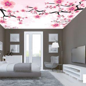 tavan dekorasyonunda gergi tavan