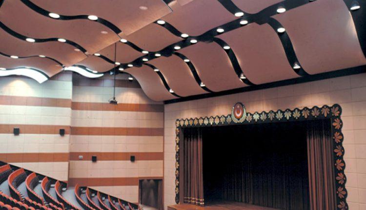 akustik gergi tavan