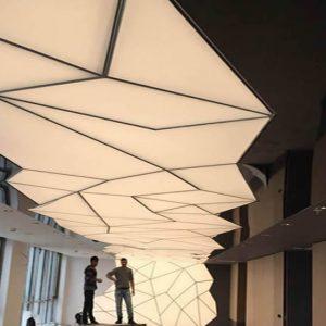 3D Gergi Tavan Sistemleri