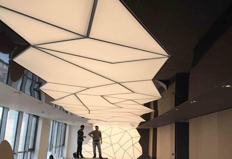 3D Spanndecken systeme