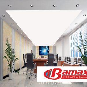 Ofis dekorasyonlarında gergi tavan sistemi