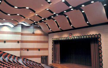 akustik germe tavan. Akustik tavan özellikleri