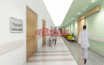 Hastanelerde gergi tavan dekoru