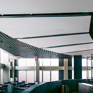 Akustik çözümlerde gergi tavan