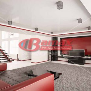 Beşiktaş gergi tavan, Gergi tavan Beşiktaş uygulaması