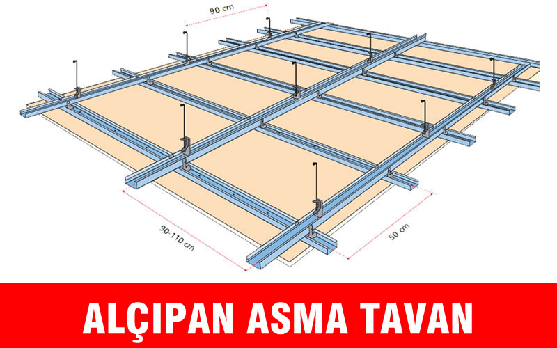 Alçıpan Asma Tavan Panel