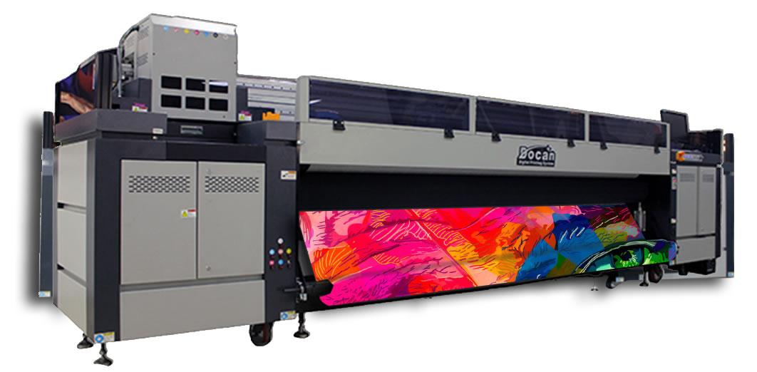 docan s3200 UV duvar kağıdı baskı makinesi