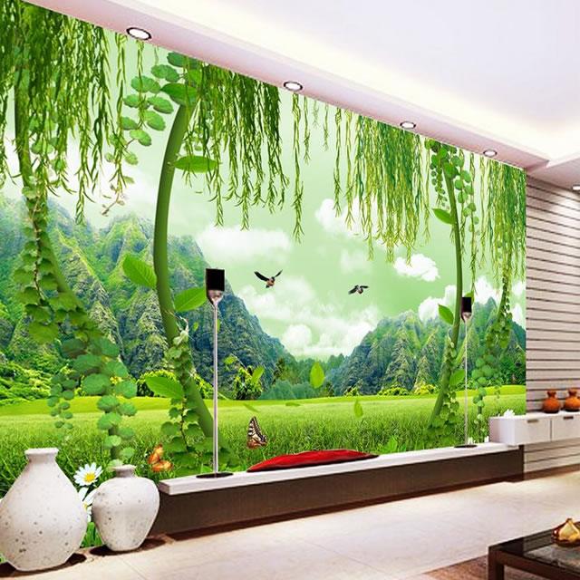 Mutfak da dijital baskılı duvar kağıdı, Duvar kağıdı tasarımları, duvar kağıtları
