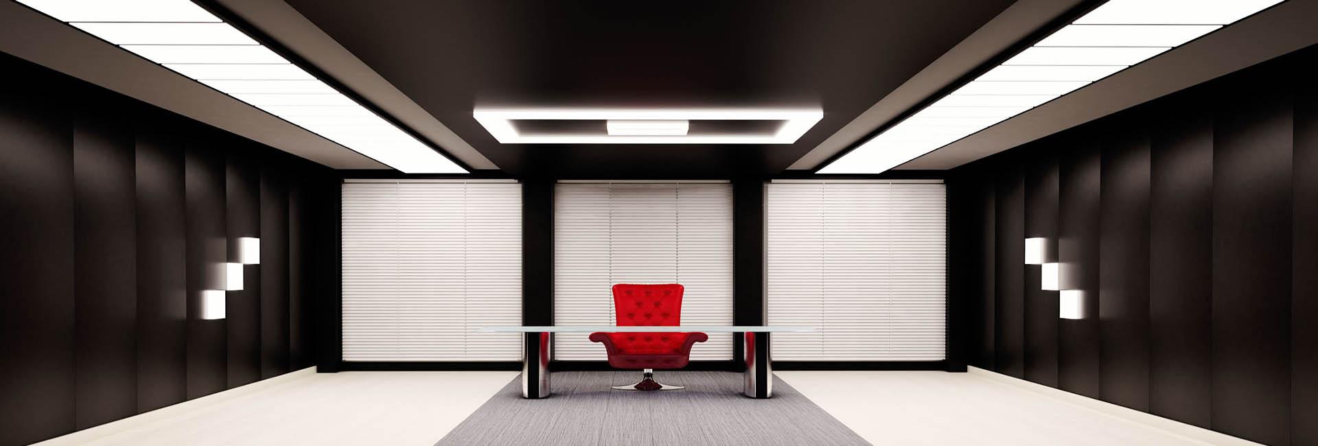 gergin tavan ofis uygulaması, gergi tavan özellikleri
