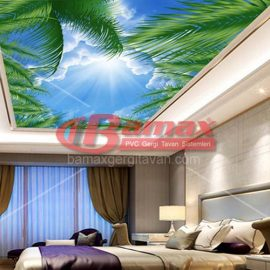 Digital printing stretch ceiling